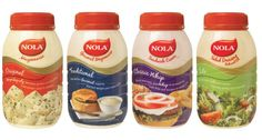 Assorted Nola Mayonnaise Special at OK Danabaai Nola Mayonnaise only Prices valid until end May while stocks last Mayonnaise, Food, Gourmet, Essen, Meals, Yemek, Eten