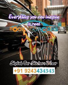 Car Rental, Stickers, Stylish, Easy, Decals