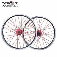 "Meijun plegable bicicleta / MTB mountain bike 20 "" 406 26 "" alta calidad aleación de aluminio v disco ruedas llanta multi-color"