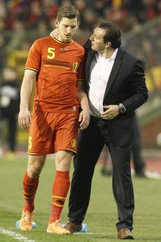 Jan Vertonghen & Marc Wilmots
