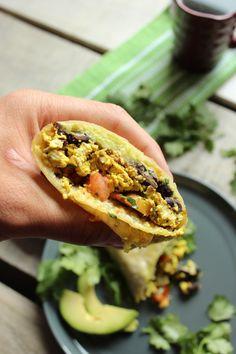 Healthy Tofu Breakfast Burritos