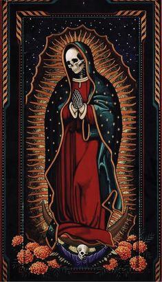 my grey paradise Dark Art Drawings, Tattoo Drawings, Mary Tattoo, Old School Tattoo Designs, Death Art, Satanic Art, Occult Art, Chicano Art, Arte Horror