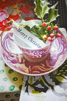 ~ Festive Table setting ~