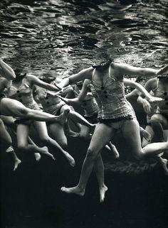"luzfosca: Philippe Halsman ""Aquacade"", USA, Florida, 1953 From Magnum Photos"