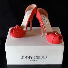 Shoebox and Heels cake, love it!