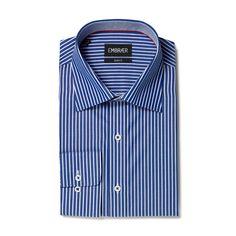 Business Hemd Slim Fit in Blau von Embraer