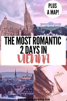 The Ultimate 2 Days in Vienna Itinerary (Plus a Free Map)! - World Wide Honeymoon Romantic Destinations, Romantic Vacations, Europe Destinations, Romantic Travel, Romantic Escapes, Romantic Getaways, European Road Trip, European Travel, Vienna Christmas