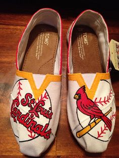 Hand Painted Customized STL Cardinals TOMS