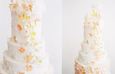 textured woodgrain effect wedding cake by T Bakes