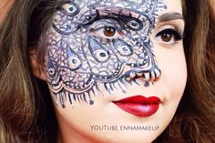 TUTORIAL ON MY YOUTUBE CHANNEL🎨LINK IN THE BIO 🎨 #makeup #MUA #cliomakeup_official  #halloween #motd #bblogger #makeupartist  #pizzo  #fashionblogger #facepaint  #maya_mia_y #beautyblogger #instalike #bbloggers #instafollow #instagood  #art #bodypaint #bodyart #amazing  #makeup  #beauty #mehronmakeup #makeupoftheday #vegas_nay  #jordanhanz #lace #makeupforever #mehron @vegas_nay  @mehronmakeup @mehronuk @cosmobeauty_it @cosmopolitan_it @makeupforeverofficial
