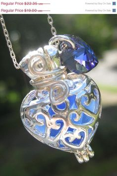 Sea Glass Necklace Pendant Mermaids Tears by MermaidsTearsJewelry, $21,00