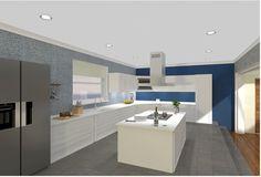 Kitchen Design Render using Vectorworks Renderworks