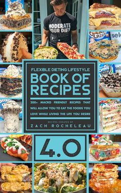 Over 230 Macro Friendly, Mouth Watering Recipe's that teach you how to create flexible dieting creations! Ranging from 40 - 6000 Calories, there is..