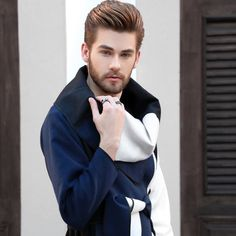 NOVO LOOK BO BLOG! Try Different Hairstyles, Cool Hairstyles For Men, Boy Hairstyles, Cool Haircuts, Haircuts For Men, Men's Hairstyle, Beard Styles For Men, Hair And Beard Styles, Short Hair Styles
