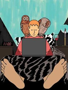 Work-Life Balance: Late Nights at Home Now Common - Businessweek