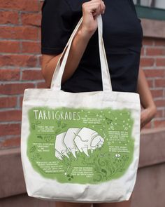 • • • • • Gift Option • • • • • Add A Gift Box for $5.95 Behold the mighty tardigrade! The phylum Tardigrada is more than 600 million years old and its members are at home in Antarctica, the tropical