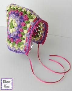 Episode 205: How To Crochet the Vintage Granny Bonnet