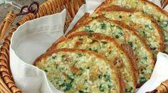 Sütőben sült ropogós fokhagymakrémes kenyérszeletek! Elmondhatatlanul finom, meg kell kóstolni!