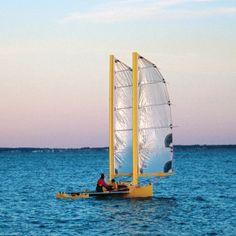 Mbuli: Ultra-light Pacific Proa Beach Cruiser by John Harris