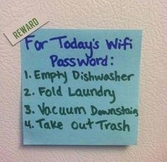 Gotta love innovative ways to get your kids to do their work! :-)