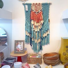 Find Ranran Design #macrame #wallhangings at @trinaturk in 891 Palm Canyon Blv in #palmsprings and Manhattan Beach