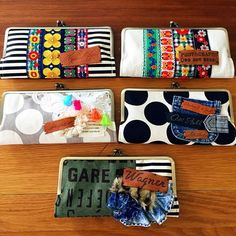 cheerful!! (@cheerful66handmade) | Instagram photos and videos Frame Purse, Handmade Bags, Zipper Pouch, Purses And Bags, Sunglasses Case, Diy And Crafts, Coin Purse, Quilts, Wallet