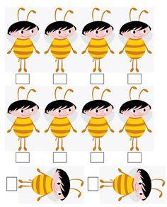 Show da Luna - abelha Alice, Art Pieces, Party, Nalu, Bees, Amanda, Insects, 3d, Party Printables