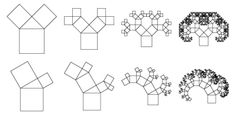 Pythagorean & Fractal Geometry Art   Phidelity Blog