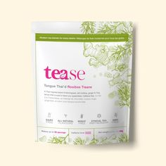 A Thai inspired blend of lemongrass, red rooibos, ginger & Thai lemon that is sure to leave you speechless. Known to restore calmness and relaxation, rooibos makes a great beverage to gain a little extra clarity in your day. Tea Blends, Lemon Grass, Caffeine, Herbalism, Restore, Gain, Beverage, Clarity