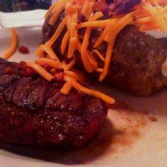 Yummy steak :)