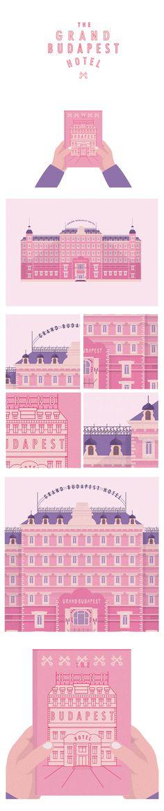 Grand Budapest Hotel on Behance