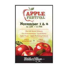 Peddler's Village Apple Festival