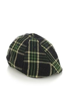 73b285fb7c234 76% OFF Ben Sherman Men s Plaid Driving Cap (Green)