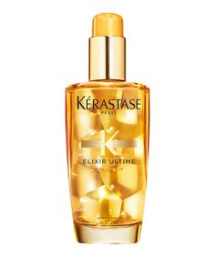 How to Make Your Hair Super Shiny When You're Air-Drying - Kerastase Elixir Ultime Beautifying Oil from InStyle.com