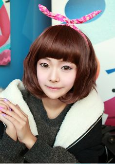 #wigs#shortwigs#koreanfashion