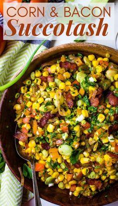 Corn and Bacon Succotash