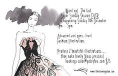 Fashion illustration classes Melbourne