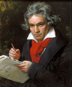 Great portrait of Ludwig van Beethoven by Joseph Karl Stieler, Great vintage fine art portrait for classical music lovers. Size: x Gender: unisex. Material: Value Poster Paper (Matte). Sebastian Bach, Beethoven Music, Partition Piano, France Culture, Moonlight Sonata, Ode To Joy, Music Composers, Ludwig, Hirst