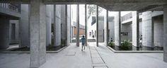 XiaoQuan Ethnic Elementary School by TAO - Trace Architecture Office Architecture Design, Sacred Architecture, Cultural Architecture, Education Architecture, Commercial Architecture, Chinese Architecture, Architecture Office, Residential Architecture, Concrete Architecture