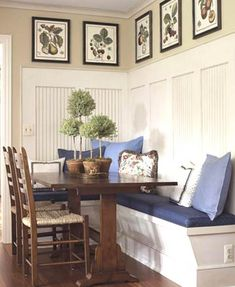 custom made built in kitchen bench banquette seating with storage kitchen ideas pinterest front windows stains and nooks - Built In Kitchen Table
