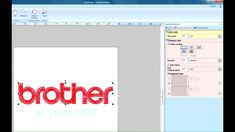 PE-Design Next Tutorial - Chapter - Manual Punch for Logo Making Embroidery Design Software, Embroidery Fonts, Embroidery Applique, Machine Embroidery, Embroidery Designs, Brother Pe Design, Font Creator, Dream Machine, Chapter 3