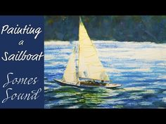 Sailboat Watercolor Painting Tutorial - YouTube