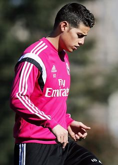 james rodriguez of real madrid march 4, 2015 session at Valdebebeas