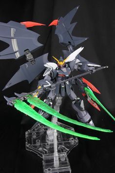 Custom Build: MG 1/100 Gundam Deathscythe Hell EW [GLORY OF LOSERS VER.] - Gundam Kits Collection News and Reviews
