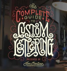 Today Im happy to announce open registration for The Complete Guide to Custom Lettering online course! Ill walk you through every step it takes to become a master lettering artist! From the history of written language all the way to customizing letters for logo design this class will cover everything you need to know to become an expert in custom lettering! Once you purchase the class you have access to it forever however for seven weeks youll get 37 lecture and demonstration videos a PDF…