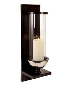Loving this Silver Metal Wall Candle Sconce on #zulily! #zulilyfinds
