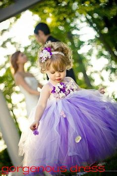 New Tulle flower girl dress / tulle girl dress / di Gorgenousdress, $69.99