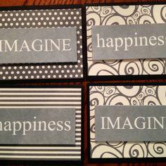 Sentiment handmade cards