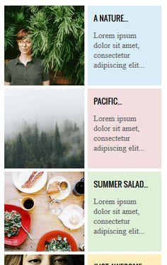 5 varianti di un bellissimo widget per i Post più Popolari in Blogger. Style 3