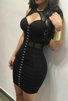 Sexy Body con Short Neckline Dresses For Beautiful Girls - Prom Dresses Tight Dresses, Sexy Dresses, Cute Dresses, Evening Dresses, Fashion Dresses, Prom Dresses, Fashion Nova Black Dress, Fitted Dresses, Bandage Dresses